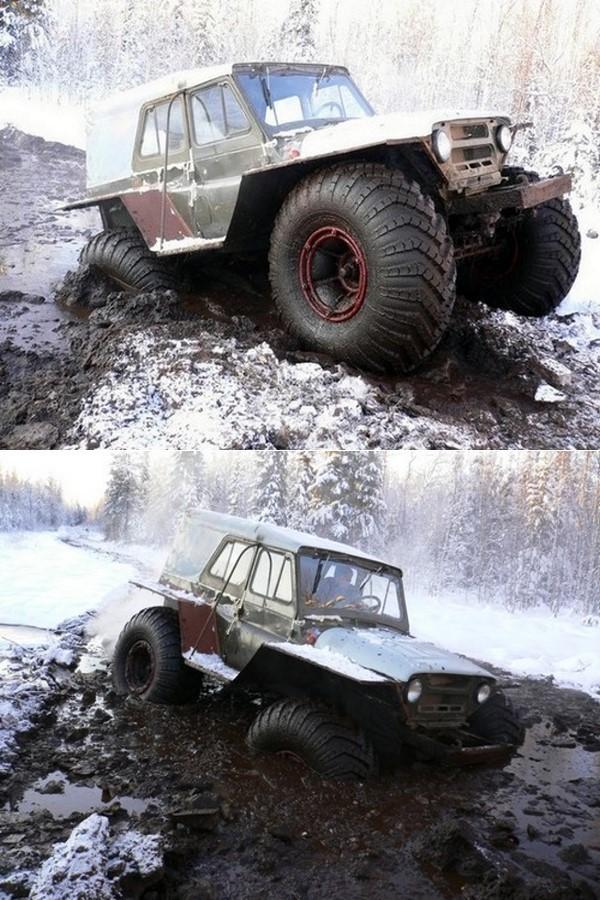 Танки грязи не боятся (19 фото) …