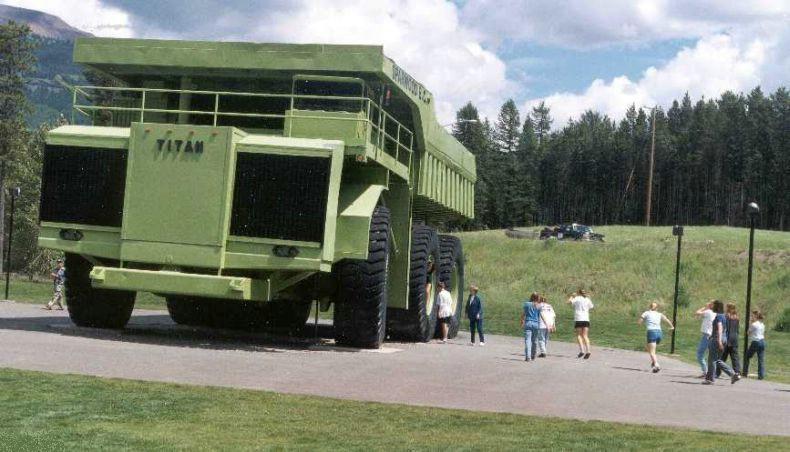 Terex Titan Truck