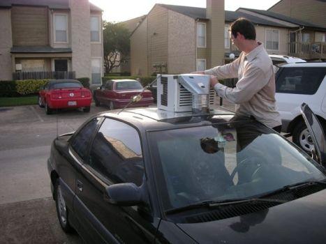 Klima do auta