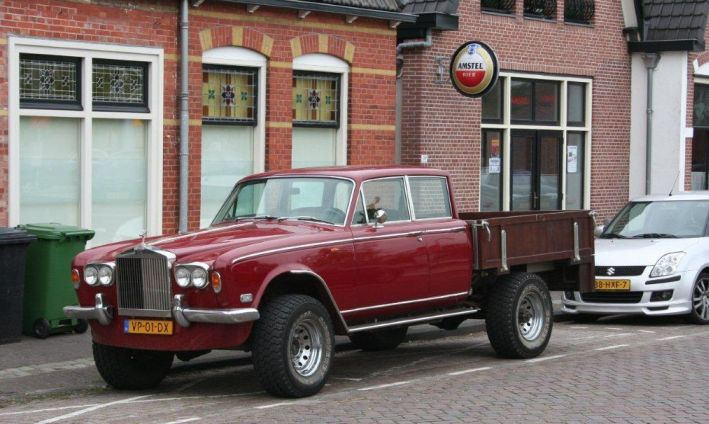 Rolls Royce Silver Shadow Pick Up