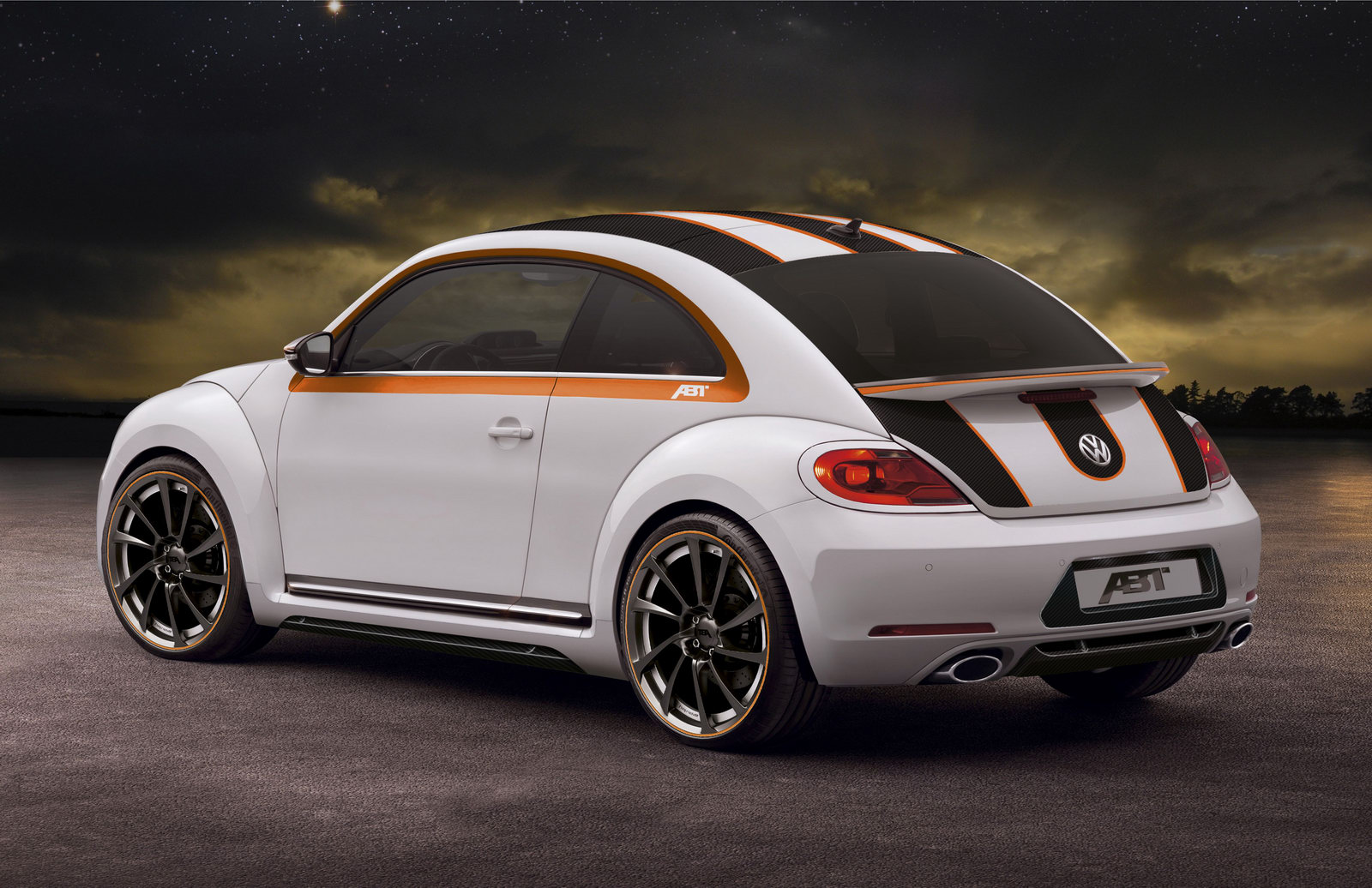 2012 vw beetle by abt sportsline. Black Bedroom Furniture Sets. Home Design Ideas