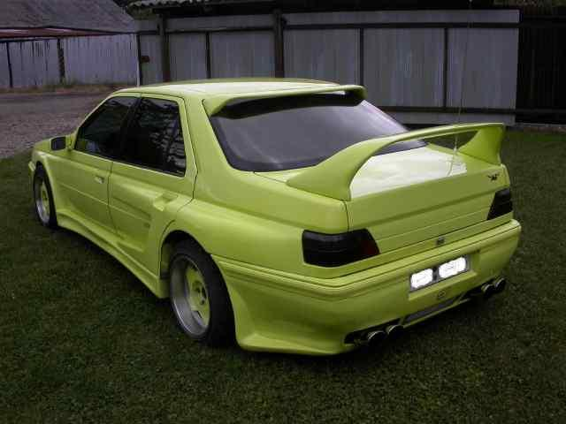 Funny Tuning Peugeot 605 2 1