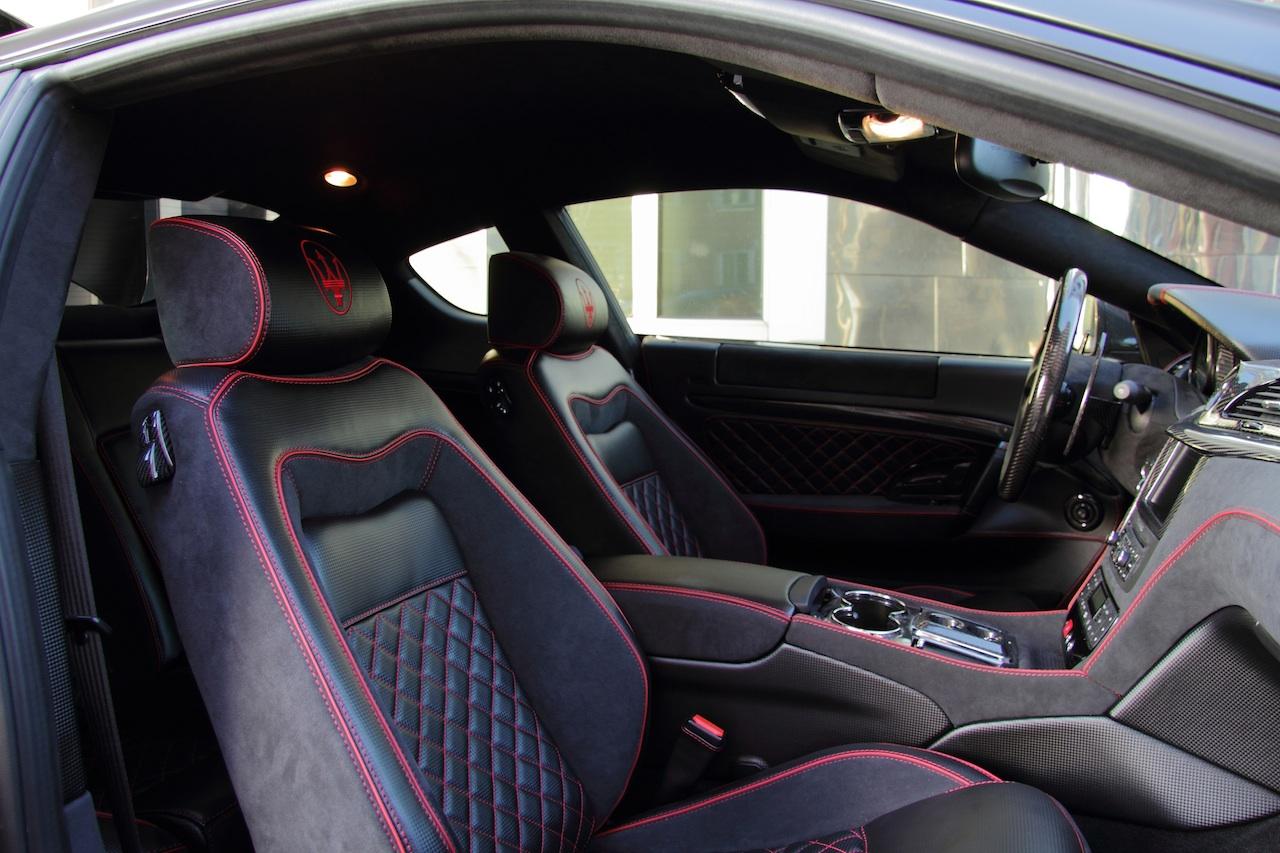 Anderson vytvořil temné Maserati Granturismo S 13