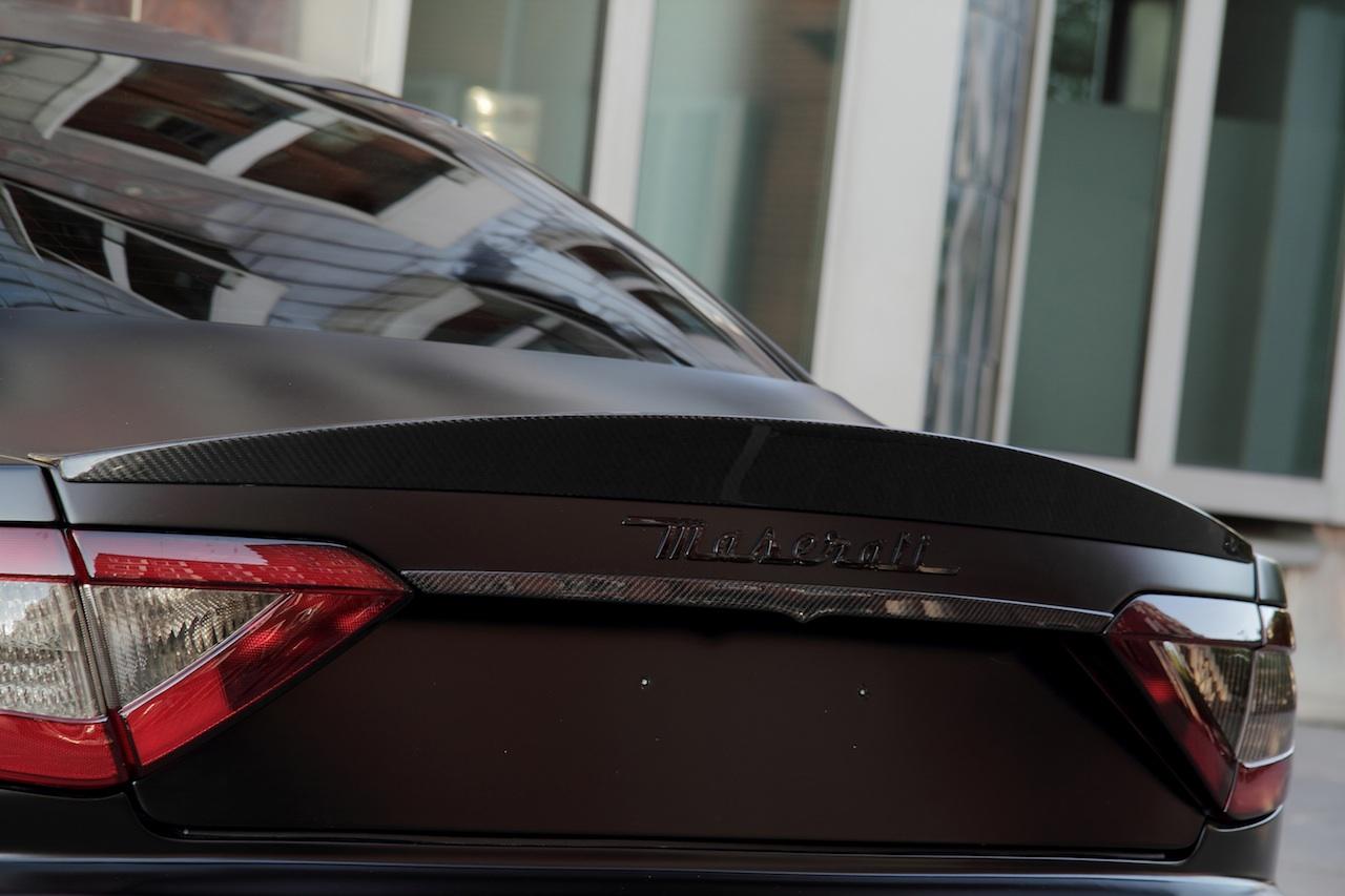Anderson vytvořil temné Maserati Granturismo S 7