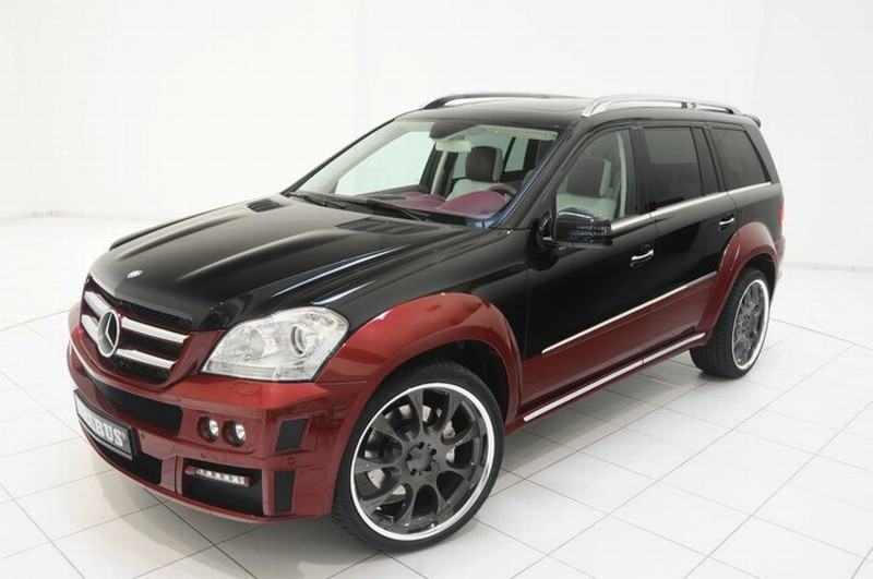Brabus upravil majestátní Mercedes GL 7
