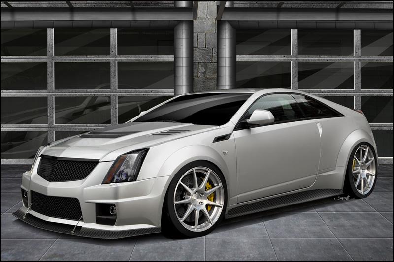 Cadillac CTS-V Coupe a 1000 koní od Hennessey 1