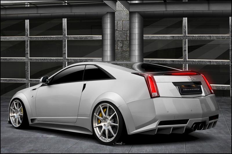 Cadillac CTS-V Coupe a 1000 koní od Hennessey 2