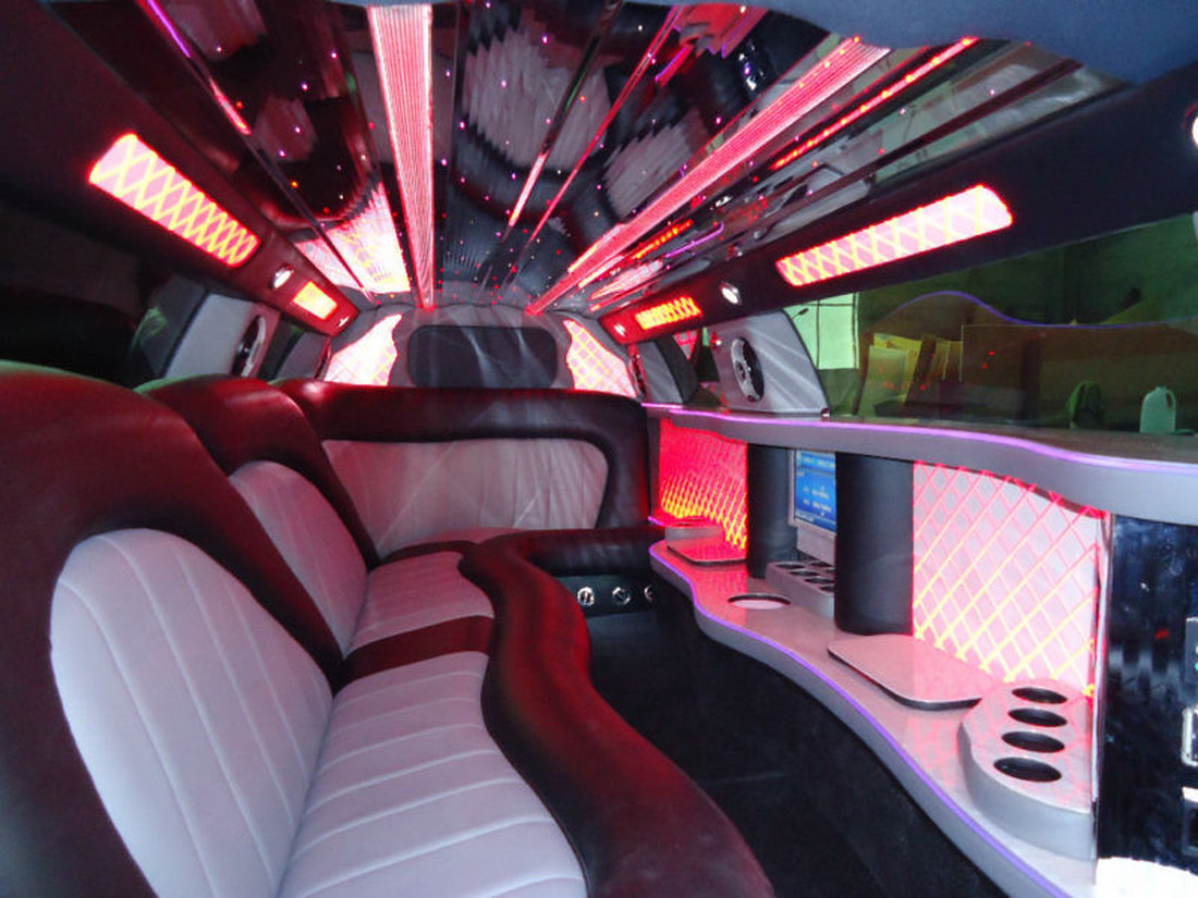 Chrysler 300 jako našlapaná limuzína 3