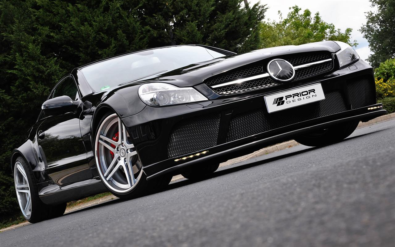 Mercedes-Benz SL od Prior Design 1