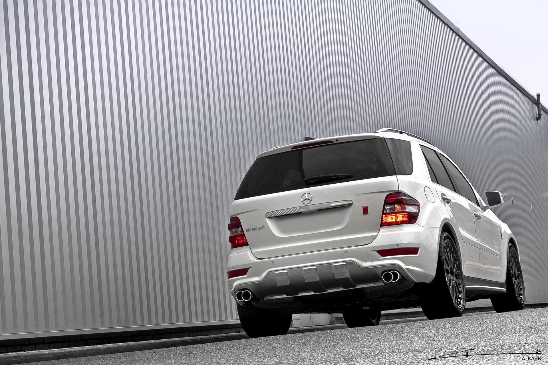 A. Kahn Design ML350 Bluetech powered by Brabus 2