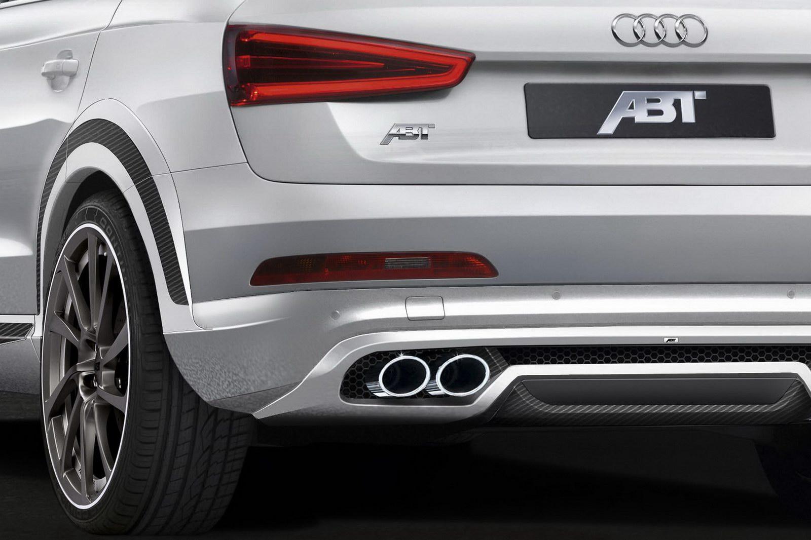 ABT si pohrál s Audi Q3 3