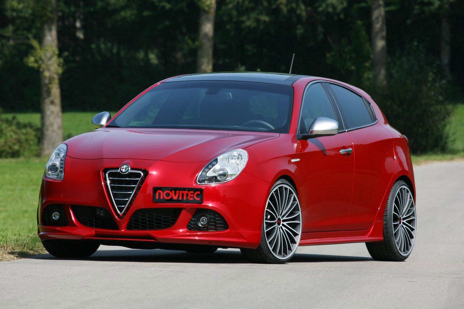 Alfa Romeo Giulietta a úpravy od Novitecu 2
