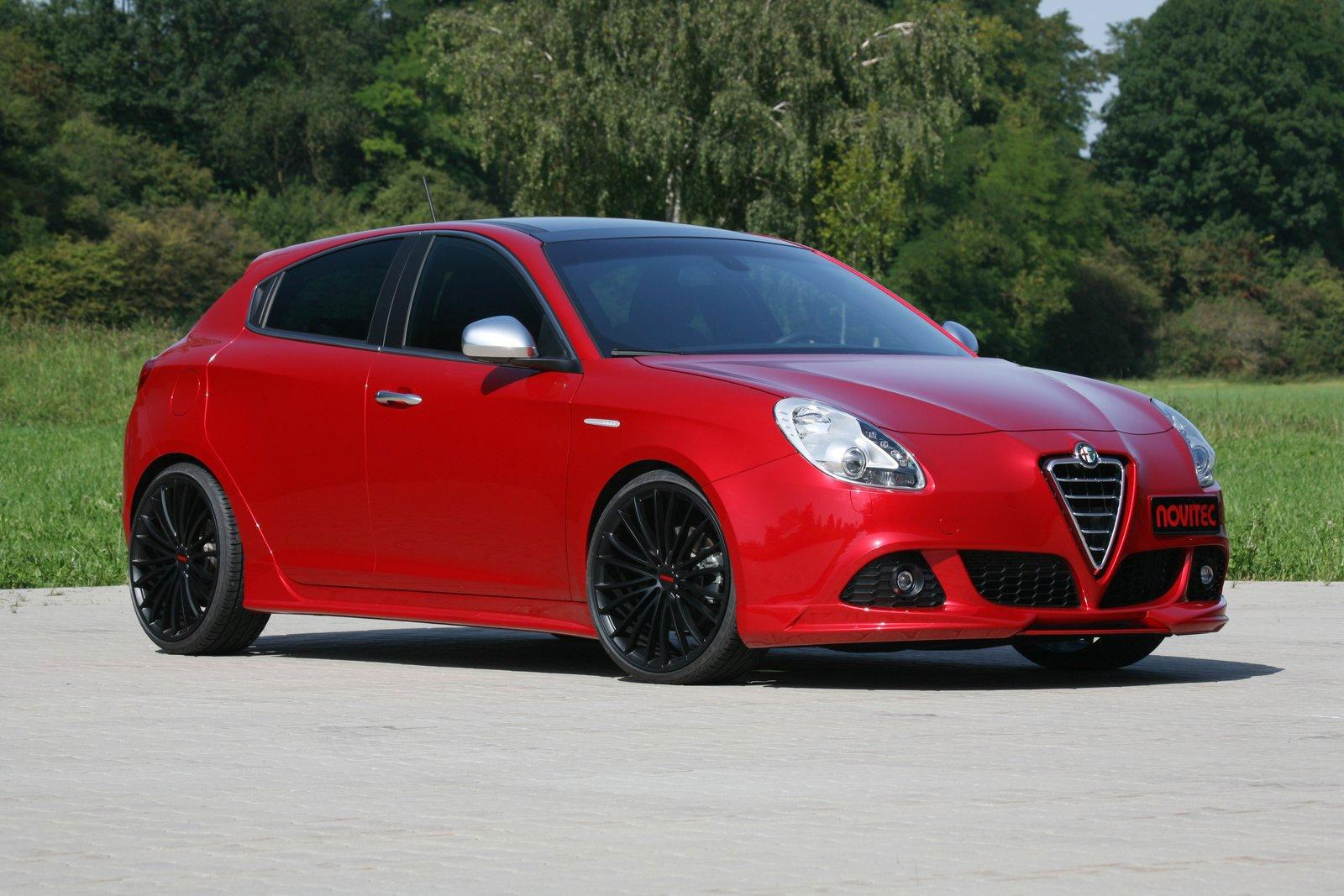 Alfa Romeo Giulietta a úpravy od Novitecu 3