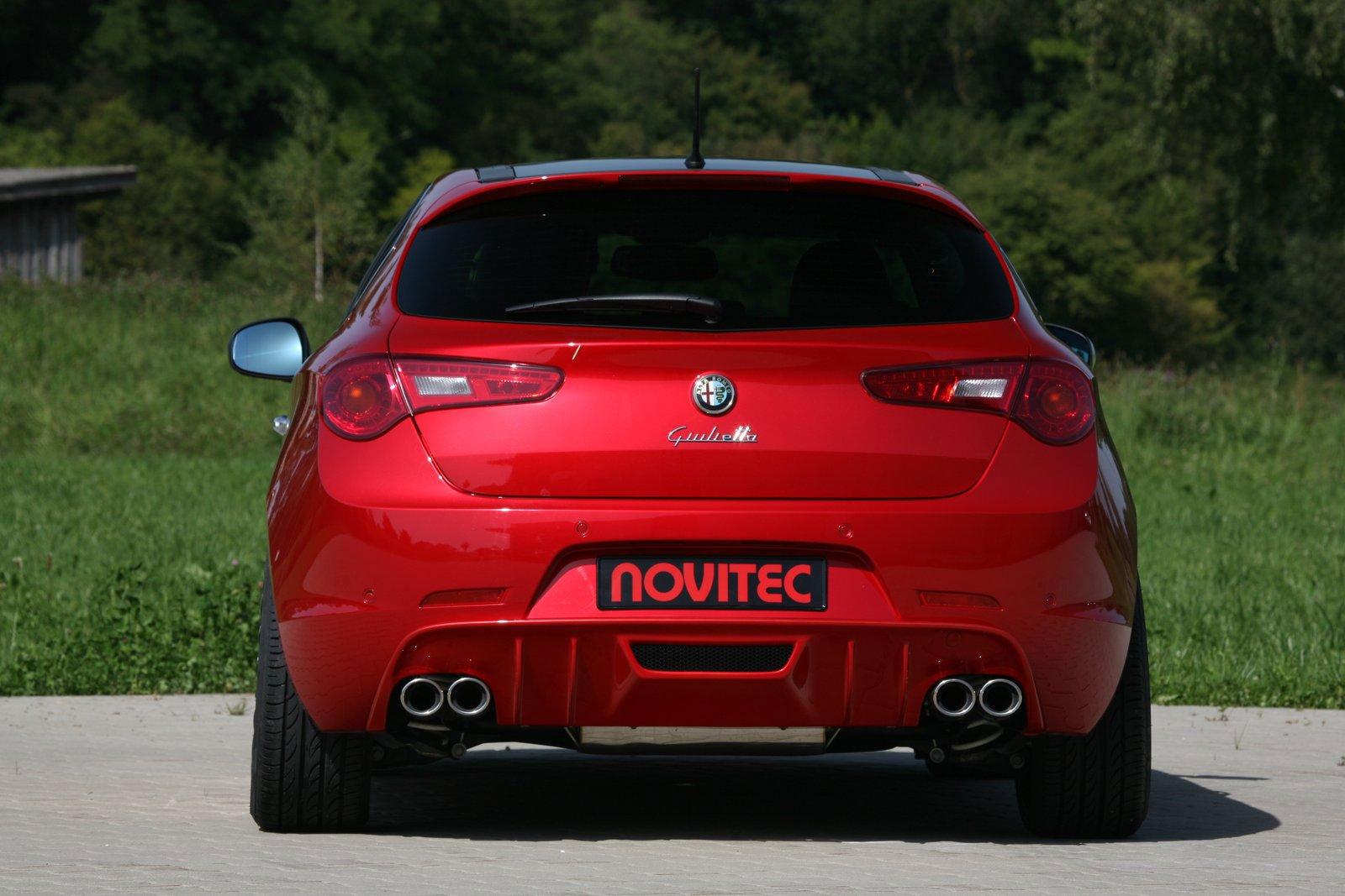 Alfa Romeo Giulietta a úpravy od Novitecu 6