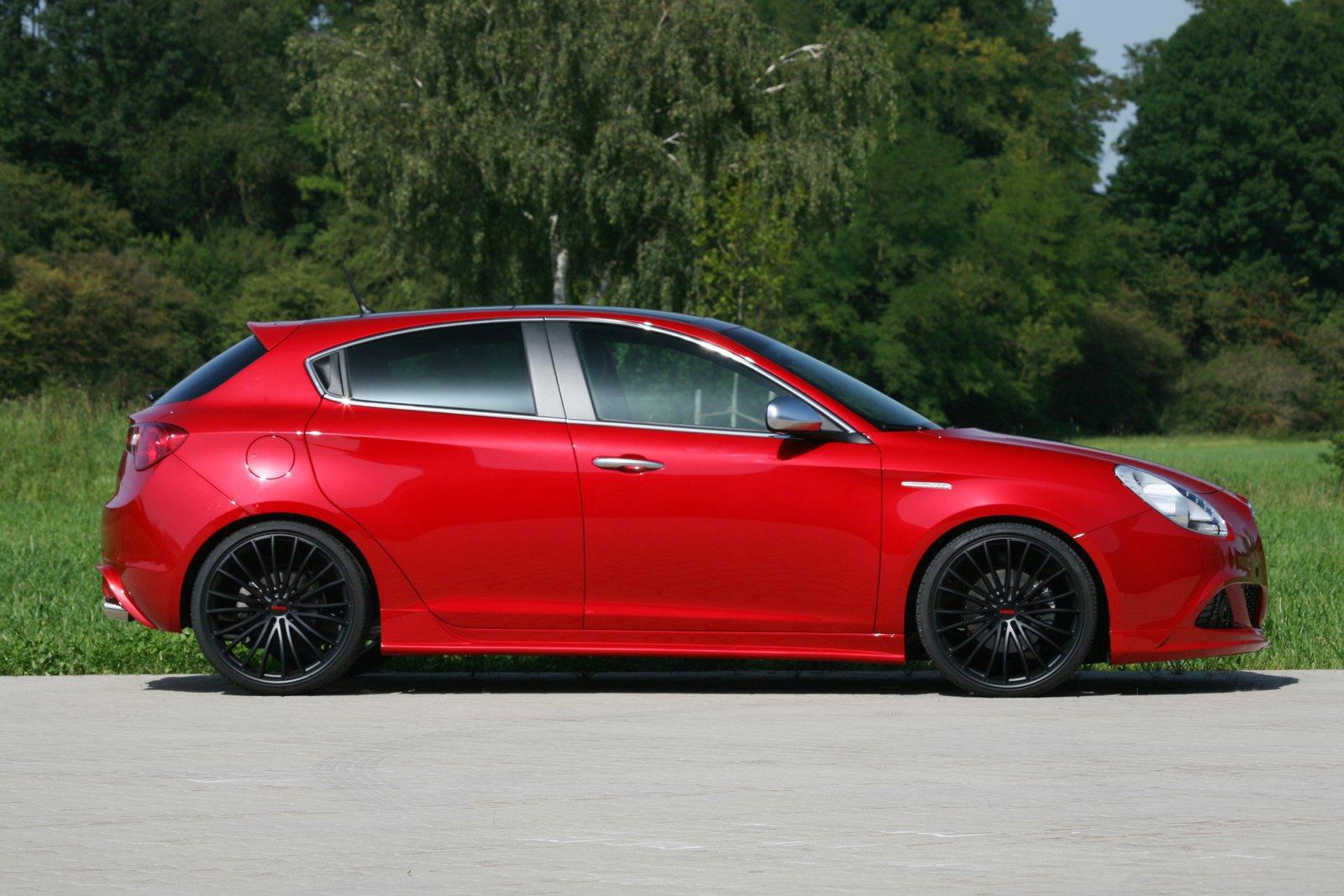 Alfa Romeo Giulietta a úpravy od Novitecu 7