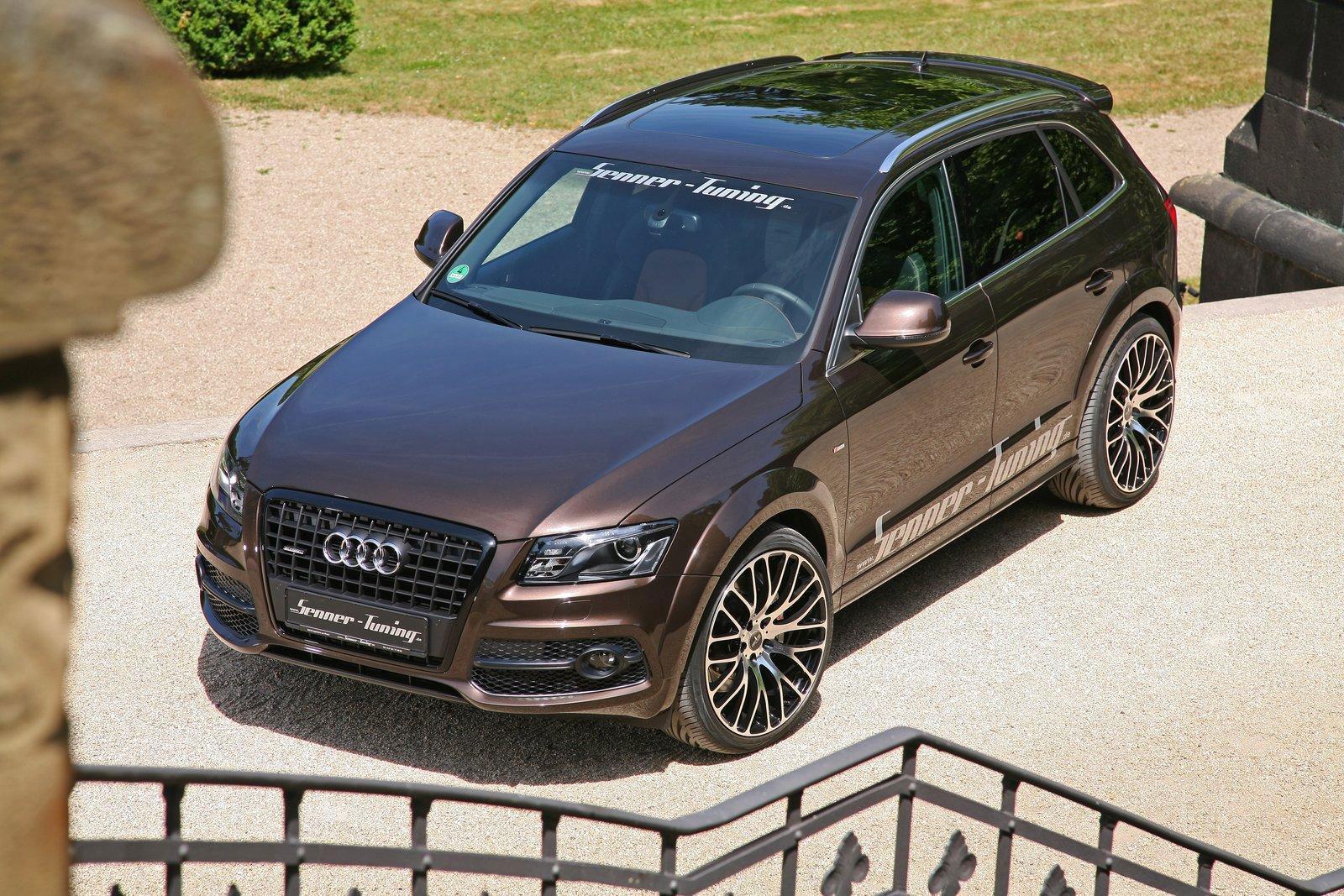 Audi Q5 dostala od Senneru větší výkon a styl 1