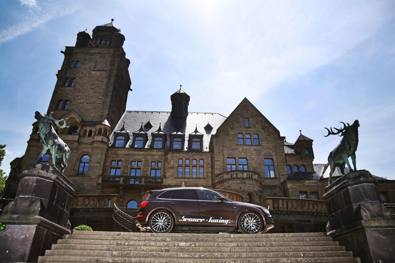 Audi Q5 dostala od Senneru větší výkon a styl 10