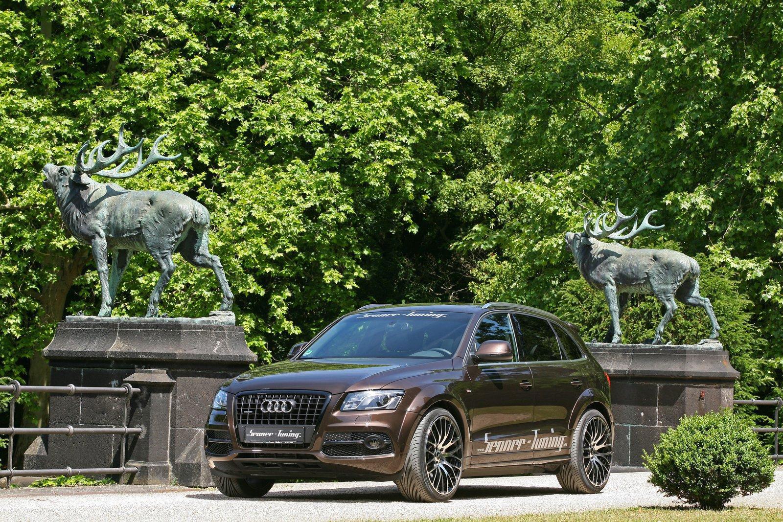 Audi Q5 dostala od Senneru větší výkon a styl 2