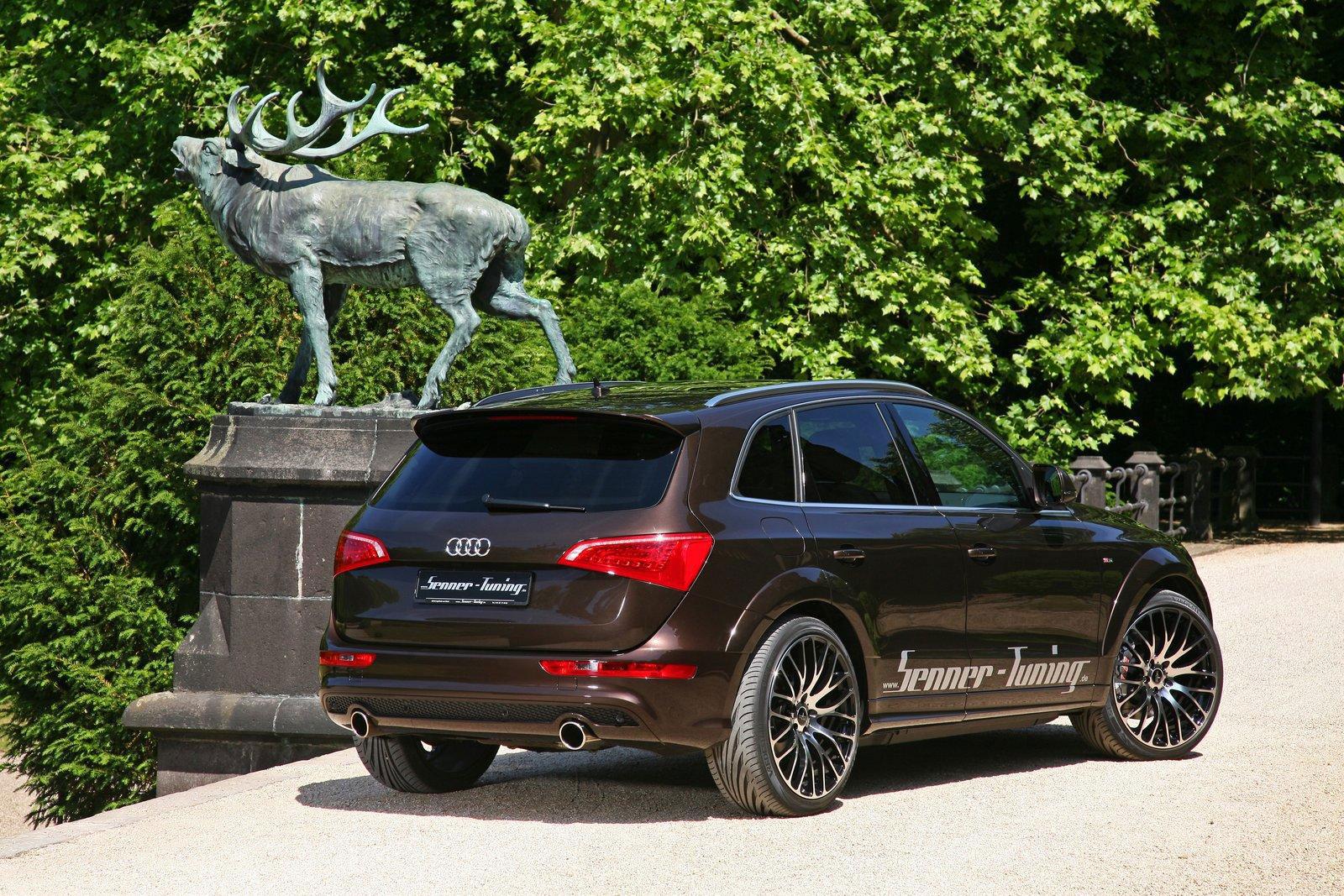 Audi Q5 dostala od Senneru větší výkon a styl 4