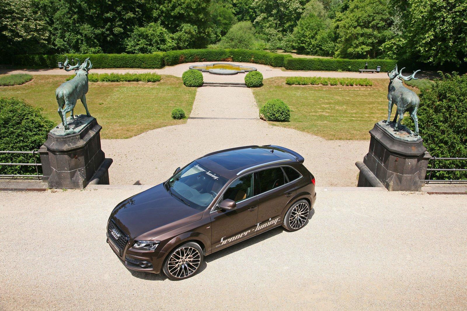 Audi Q5 dostala od Senneru větší výkon a styl 5