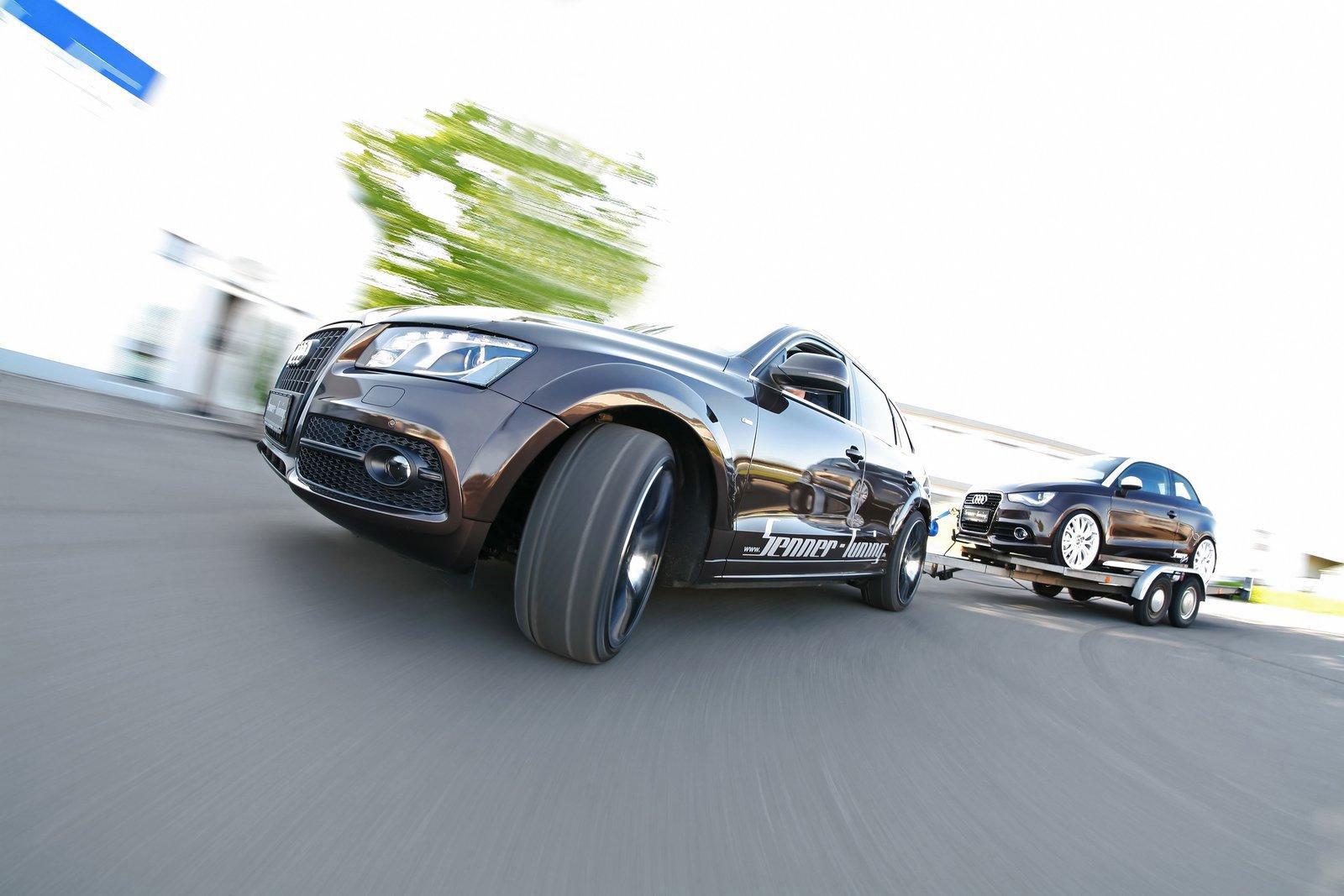 Audi Q5 dostala od Senneru větší výkon a styl 7