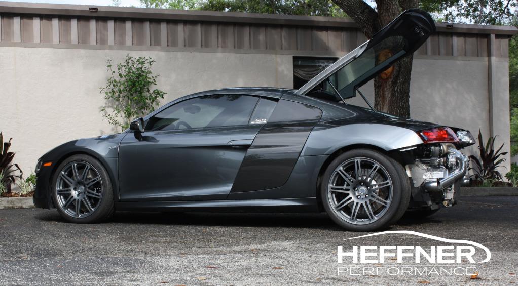 Audi R8 V-10 pořádně vylepšená od Heffner Performance 1