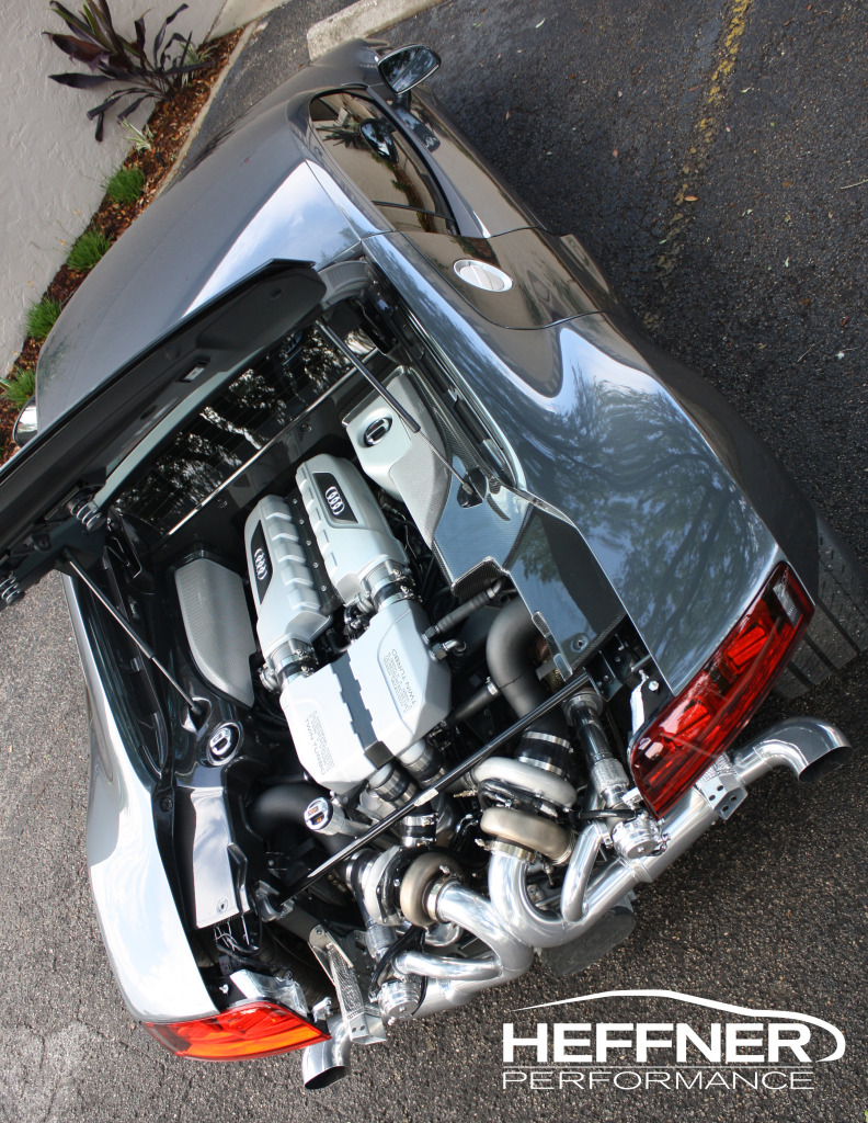 Audi R8 V-10 pořádně vylepšená od Heffner Performance 4