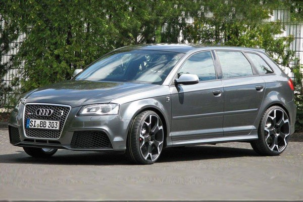 Audi RS3 má po úpravě od B&B 510 koní 1