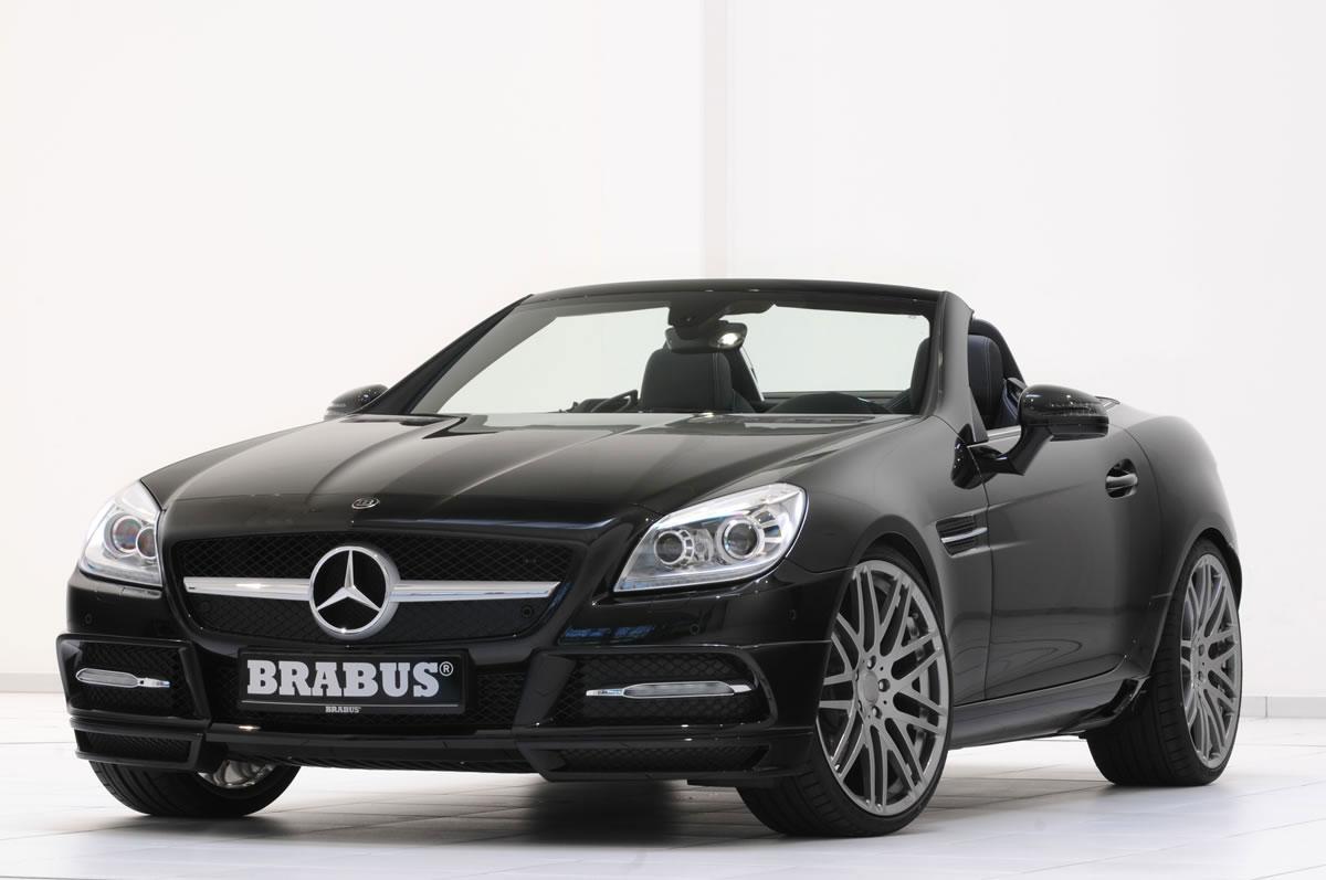 Brabus zveřejnil úpravy pro Mercedes-Benz SLK R172 1