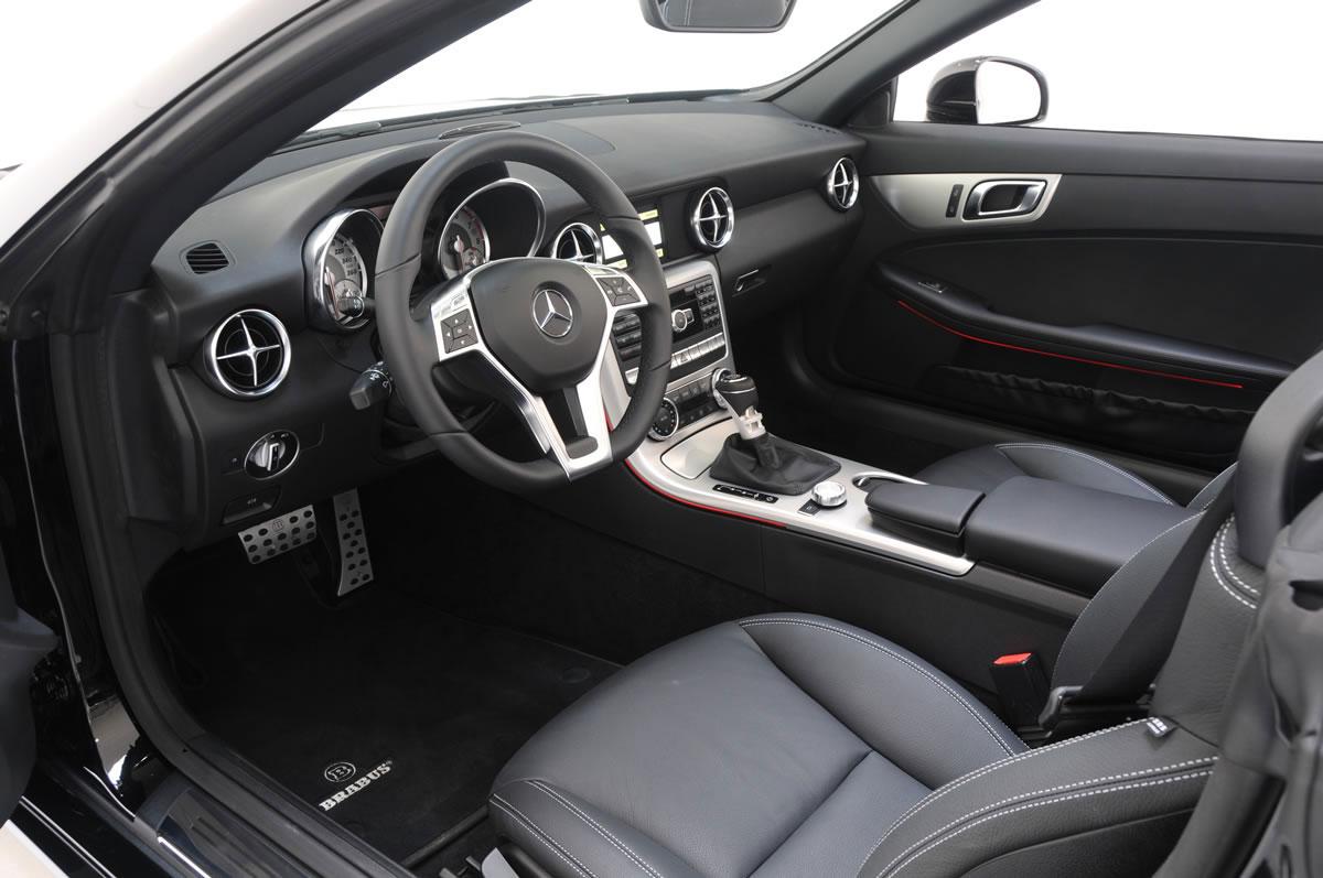 Brabus zveřejnil úpravy pro Mercedes-Benz SLK R172 11