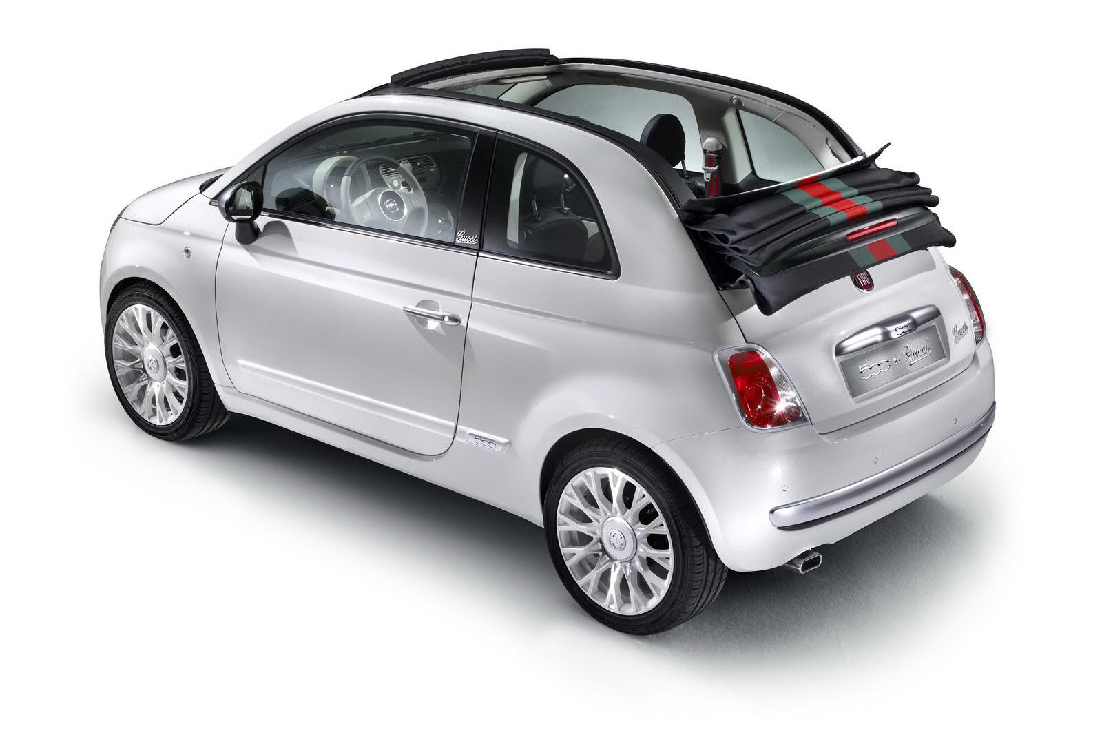 Fiat 500C a speciální edice od Gucciho 6
