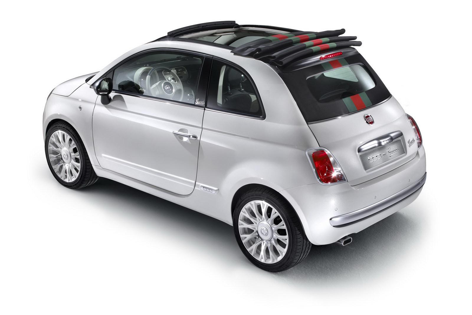 Fiat 500C a speciální edice od Gucciho 7