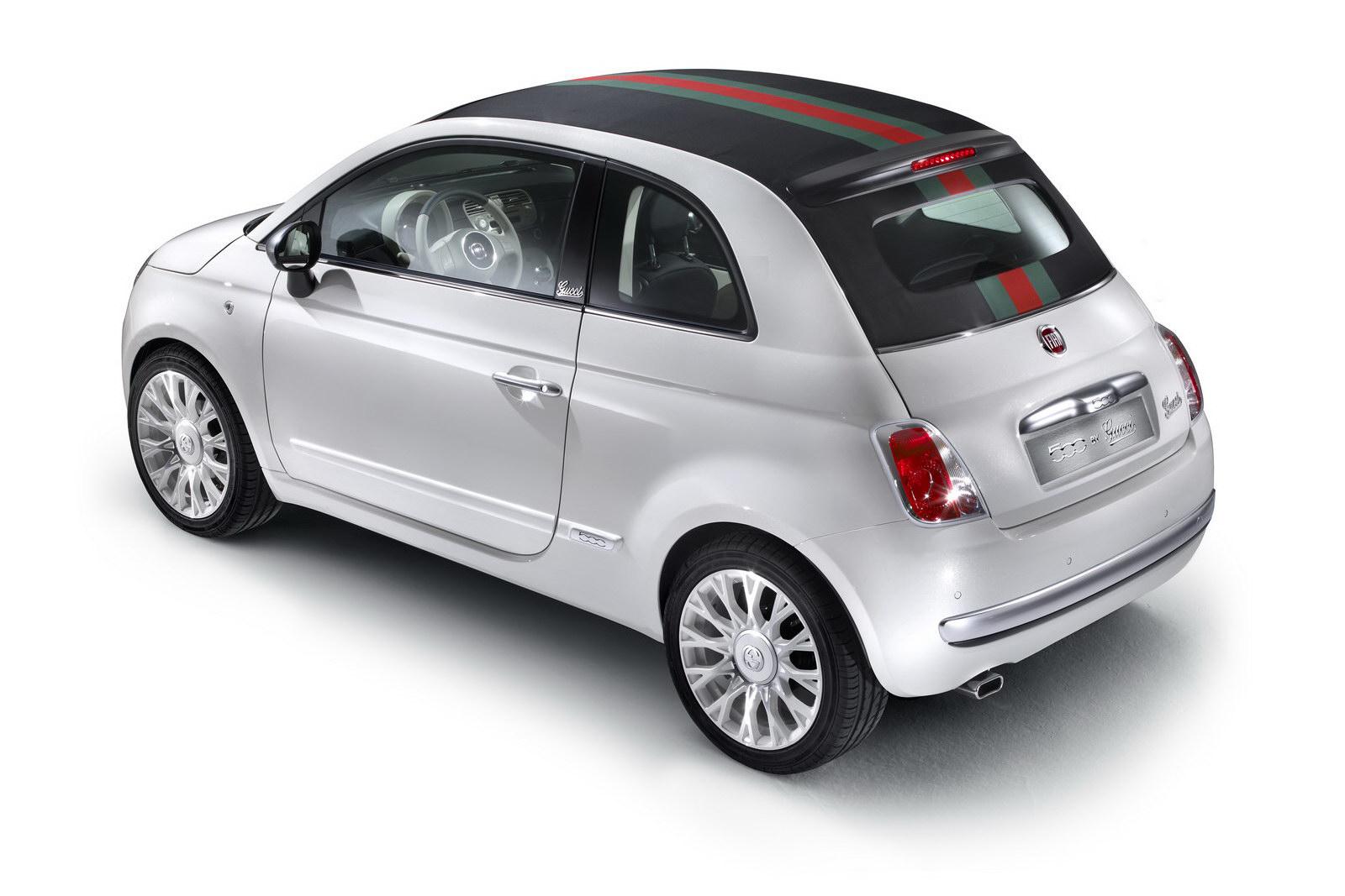 Fiat 500C a speciální edice od Gucciho 8