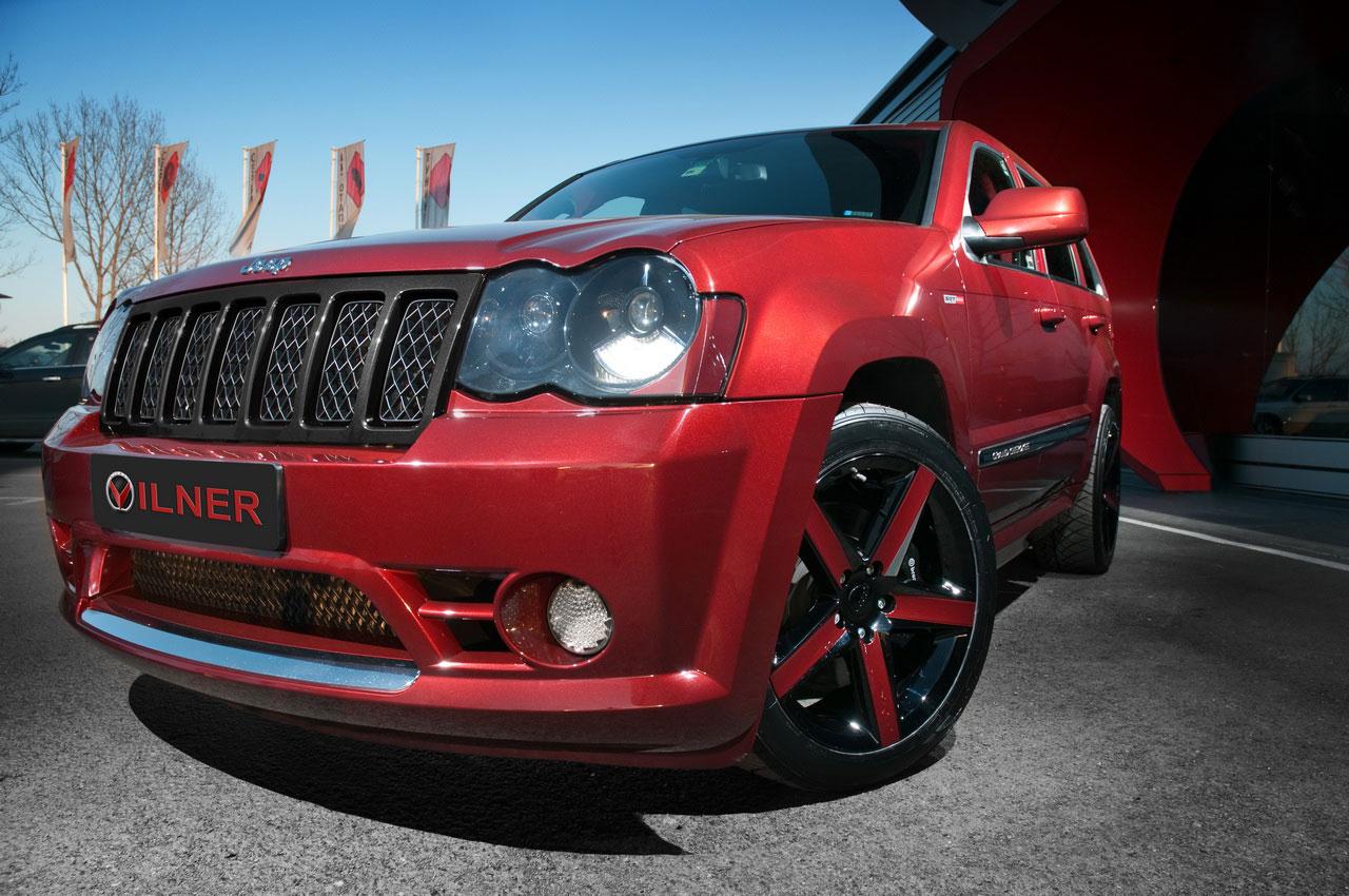 Hennessey Jeep Grand Cherokee SRT600 ještě upravil Vilner 1