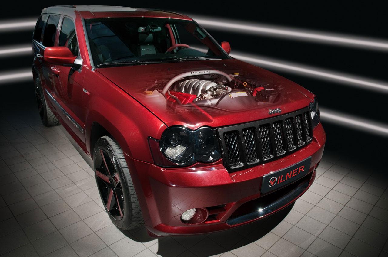 Hennessey Jeep Grand Cherokee SRT600 ještě upravil Vilner 2