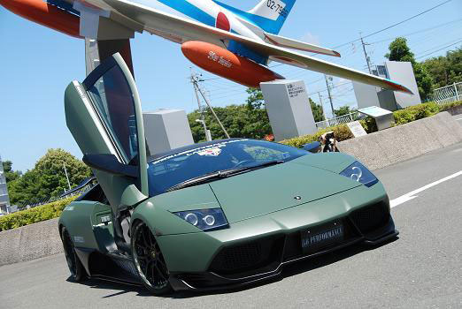 LB-R Zero Fighter Lamborghini Murcielago od Liberty Walk Performance 1