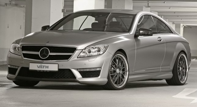 Mercedes-Bent CL 63 AMG a nárust výkonu od Väth 1