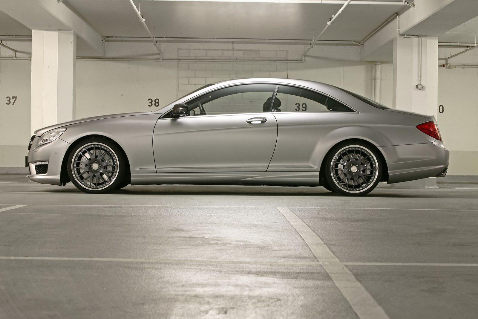 Mercedes-Bent CL 63 AMG a nárust výkonu od Väth 2