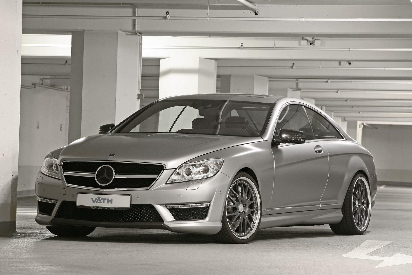 Mercedes-Bent CL 63 AMG a nárust výkonu od Väth 4