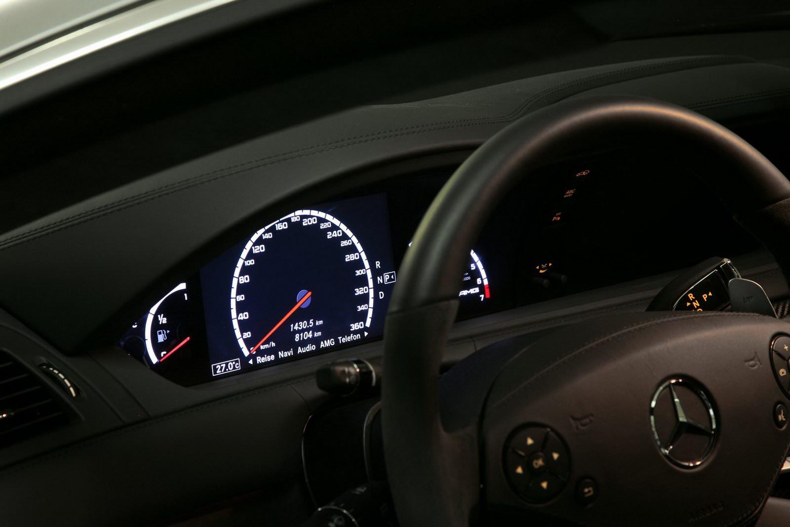 Mercedes-Bent CL 63 AMG a nárust výkonu od Väth 5