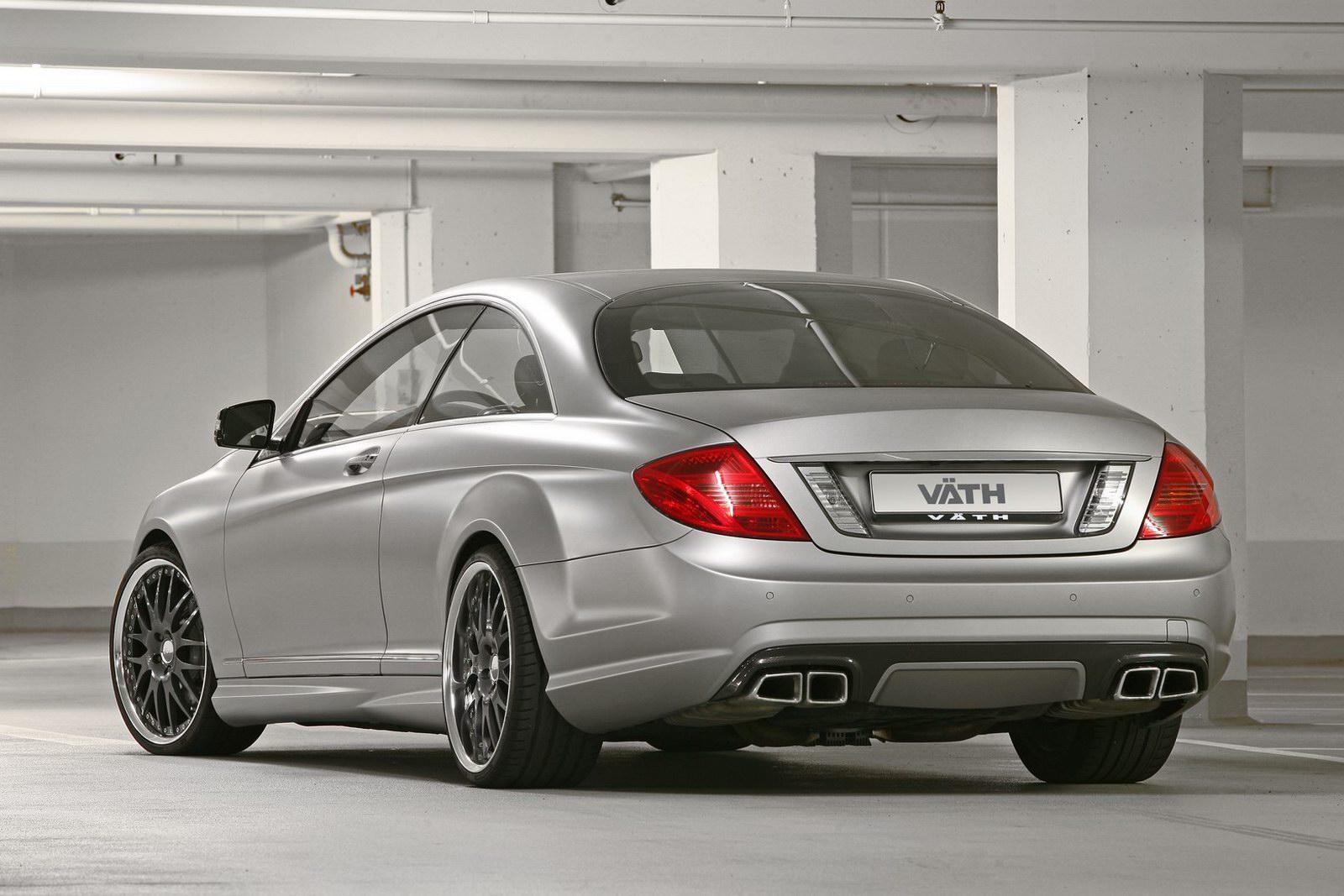 Mercedes-Bent CL 63 AMG a nárust výkonu od Väth 6
