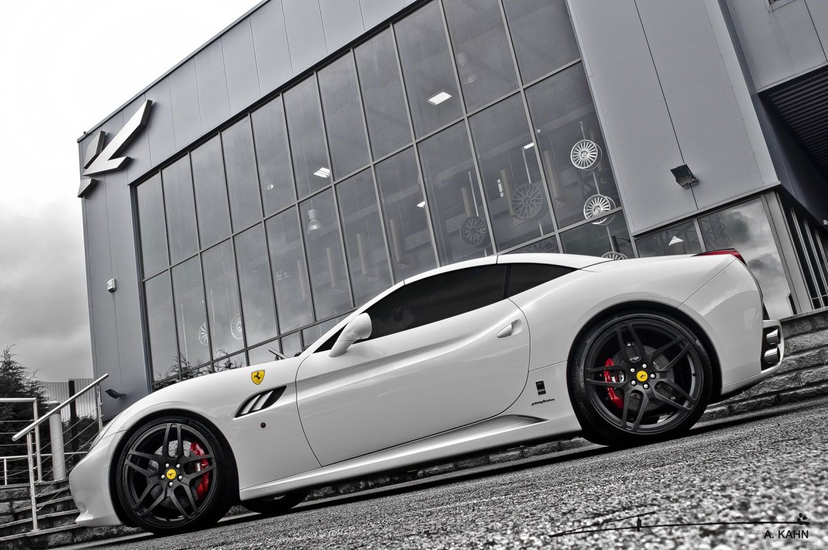 Project Kahn zveřejnil úpravy pro Ferrari California 1