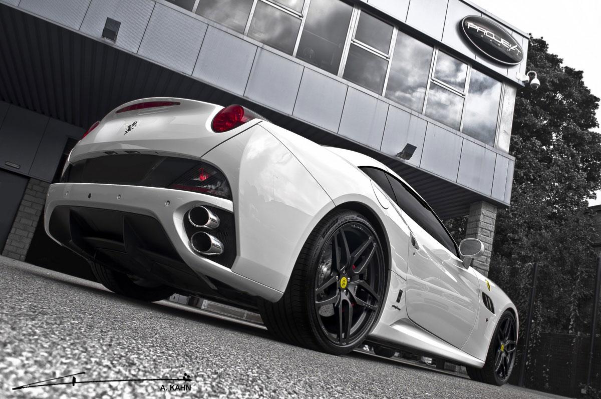 Project Kahn zveřejnil úpravy pro Ferrari California 2