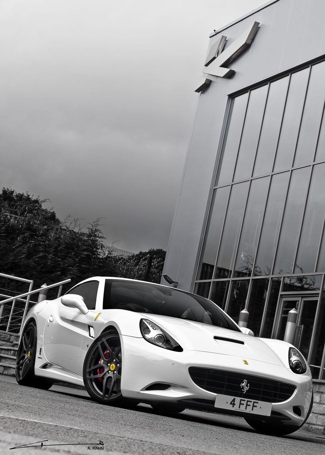 Project Kahn zveřejnil úpravy pro Ferrari California 3