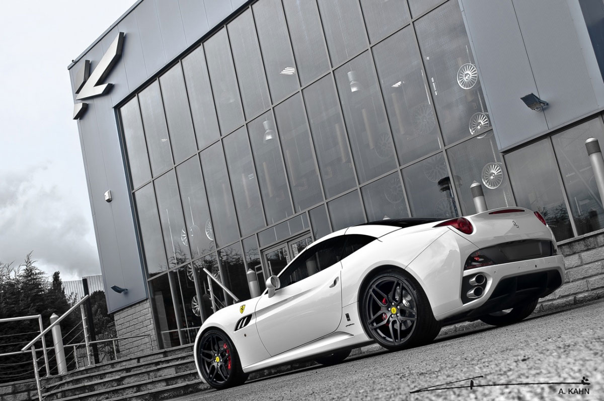 Project Kahn zveřejnil úpravy pro Ferrari California 4