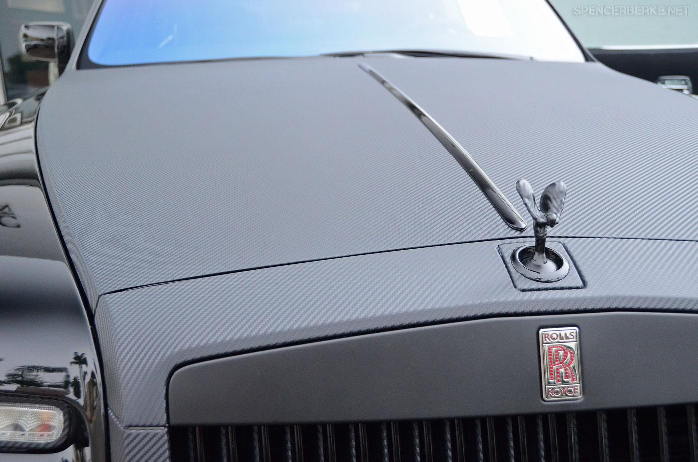 Rolls-Royce Phantom Coupe a fólie 3M 5
