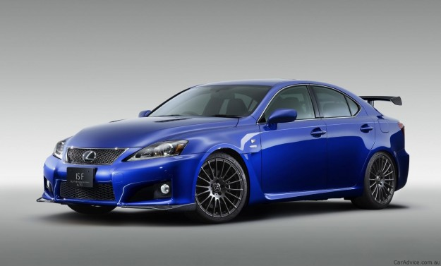 TRD představuje Lexus IS F Circuit Club Sports, inspirováno konceptem 1