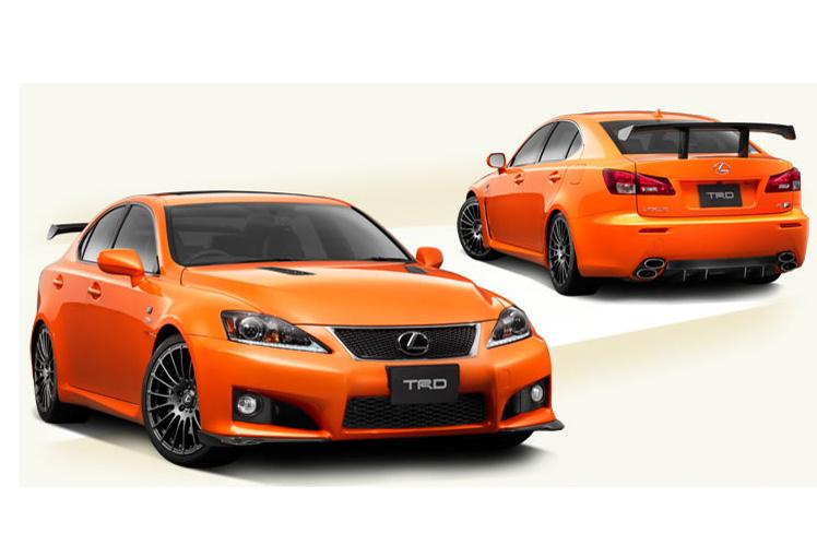TRD představuje Lexus IS F Circuit Club Sports, inspirováno konceptem 3