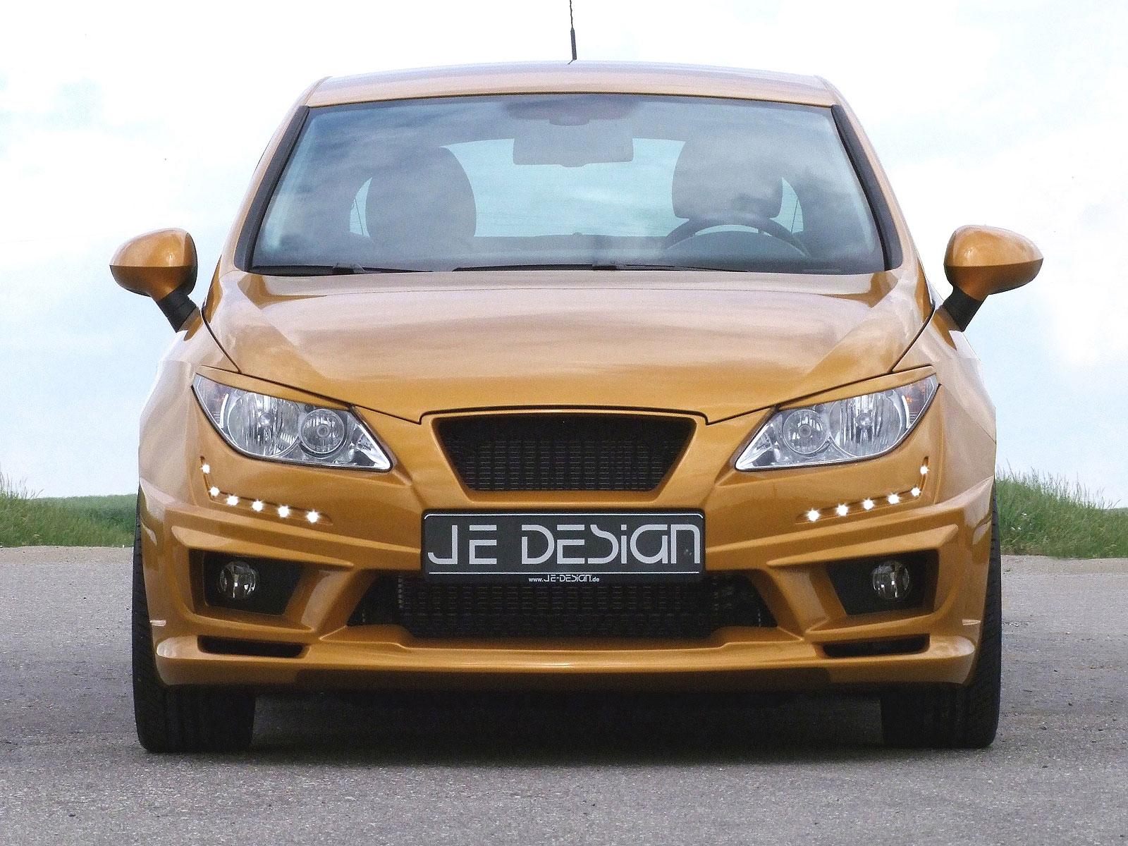 Zlatý Seat Ibiza od JE Design 2