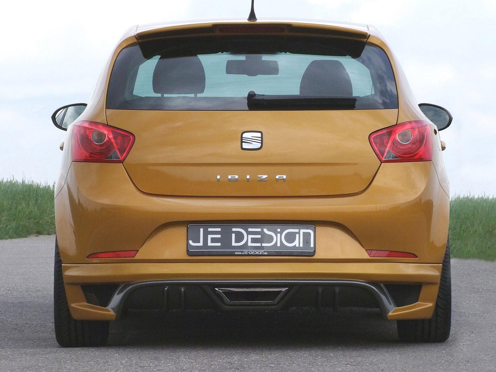 Zlatý Seat Ibiza od JE Design 4